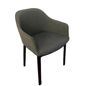 Vitra Softshell Chairs: Grey