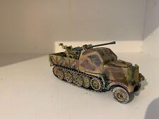 Modlz-n-toyz-elite German Armoured 18t Heavy Half Track Famo with 20mm AA Gun.#1
