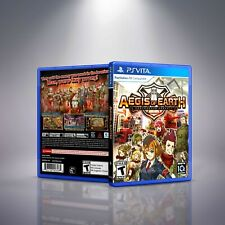 Aegis of Earth: Protonovus Assault - PlayStation Vita Cover and Case. NO GAME!!