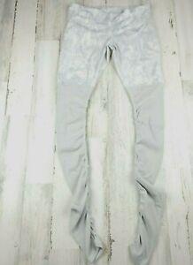 Alo Yoga Mesh Goddess White Legging Size  M EUC
