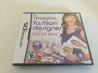 Imagine: Fashion Designer World Tour (Nintendo DS, 2009) DS NEW