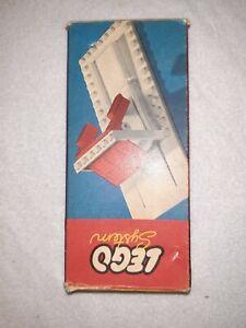 LEGO system vintage Garage 235 60er alt 1:87 boxed mursten rare OVP