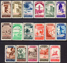 1940 CAPE JUBY Yv 103-119 compl.set MNH CV 185€ LUXE!