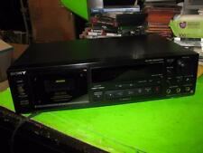 Sony Stereo Cassette Deck Player Model TC-RX77ES - As Is for Parts or Repair
