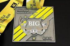 2018 Big Elk Trail Run Marathon - Half Marathon Finisher Medal
