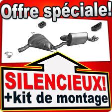 Silencieux Arriere FIAT BARCHETTA 1.8i 130CH à 2000 échappement 2B9