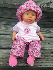 Kleidung für Puppen first ANNABELL Baby LOTTA  36-38 cm Puppenkleidung CHOU neu