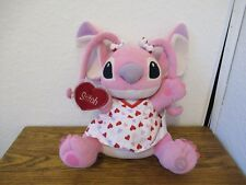 "13"" Disney Lilo & Stitch girlfriend Angel soft plush figure toy Date Romantic"