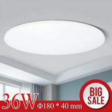 Led Surface Mount Ceiling Light Fixture Pure White 6000k 8 In 36w 2160lm Bright