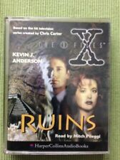 AUDIO BOOK CASSETTE - The X-Files Ruins Kevin J Anderson Read By Mitch Pileggi