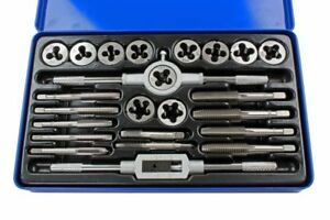 US PRO by BERGEN Tools 24pc UNC/UNF, Imperial, Tap And Die Set 2621