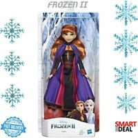 Disney Frozen 2 Anna Fashion Doll Toy Childrens Kids Gift Role Play Brand New