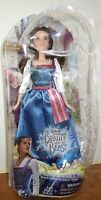 NEW * Disney MOVIE Beauty And The Beast  Belle In Village Dress DOLL Damaged Box