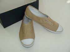 a6277fce5fe Pipa Khaki Canvas Chaps Size 6.5 6 1 2 NEW Shoes Women s Tennis