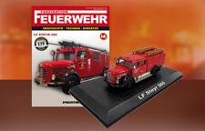 Camion Pompieri LF STEYR 380 - Feuerwehr Bomberos DIE CAST 1:72
