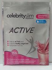 Celebrity Slim Active Strawberry Sachets (Box of 20 Sachets 40g) NEW PRODUCT!!!