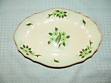 Adams Calyx Ware England Wyndham Pattern Handpainted Oval Serving Dish