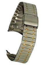 Edelstahluhrarmband feststehender Rundanschluss - 19 mm - Uhrband