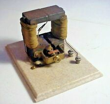 Antique 19th Century Bipolar Direct Current Battery Fan Electric Motor