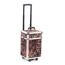 Cosmetic makeup nail hairdressing beauty vanity hair trolley case box storage FL