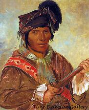 Co-ee-ha-jo, A Seminole Indian Chief - 1838 - George Catlin Art Print