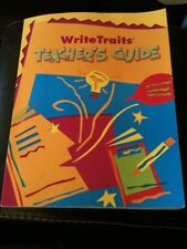 Write Traits Teacher's Guide by Jeff Hicks and Vicki Spandel (2003, Paperback)