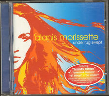 ALANIS MORISSETTE  Under Rug Swept NEW CD 11 track VIDEO ENHANCED Hands Clean