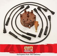 Ignition & Lead kit - Toyota LandCruiser FJ80 4.0P 3F-E EFi (90-92)