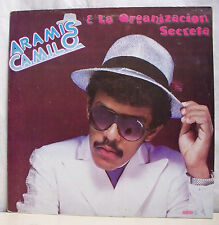 "33 tours ARAMIS CAMILO Disque Vinyl LP 12"" ORGANIZACTION SECRETA -DISCO MUND 009"
