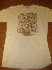 "ARIZONA STATE small T shirt tan ASU Sun Devils psychedelic ""Since 1885"""