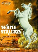 Atlantis models White Stallion Horse from Original Aurora 1966 Tooling