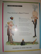 Guinness art advert The Animal's Best Friend 1960