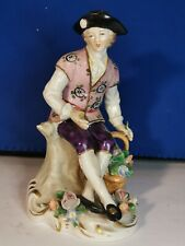 Sitzendorf German Porcelain  Figurine Man