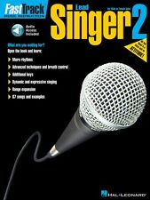 FastTrack Lead Singer Method Book 2 - for Male or Female Voice Music 000695890