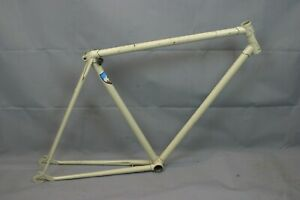 1970's Vintage Touring Road Bike Frame 53cm Small Fixie Lugged Steel USA Charity
