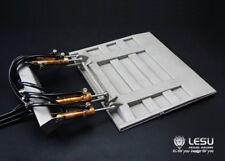 LESU 1/14 RC TAMIYA Metal Hydraulic Tail Plate 4 Cylinders Wagon Truck DIY Model