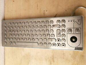 SASSE KIM-SF/2/DE/USB_Basic Modell 1500.9906188 Tastatur Edelstahl Gebraucht