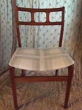 Vintage Mid Century Danish Modern Teak d-SCAN Dining Chairs