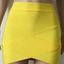 Women Party Cocktail Dress Sexy Bandage Pencil Skirt Tight Mini Skirt Wrap Dress