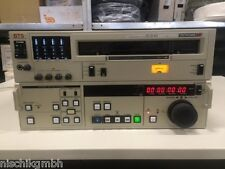 Broadcast BTS BETACAM SP BCB 65 PAL Video Cassette Player