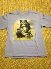 Black Bear Mom Cub Nature Animal Youth Medium The Mountain Kids T Shirt Tie Dye