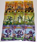LEGO MIXELS Series 6 Complete set of 9 sealed YELLOW GREEN PURPLE lot 41553