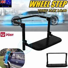 Fully Adjustable Wheel Folding Solid Step Lift Ladder Stair Van Truck 4WD 4X4 ZZ