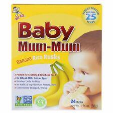 Hot Kid  Baby Mum-Mum  Banana Rice Rusks  24 Rusks  1 76 oz  50 g