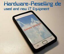 Samsung Galaxy i9100 S2 Silikon Case Hülle Skin + Schutzfolie - Schwarz NEU