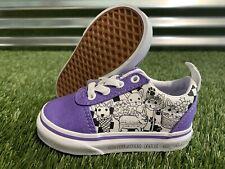 Vans Ward Slip-On 'Color-Me' Toddler Girls Shoes Purple SZ 5 ( VN0A3QU116M )