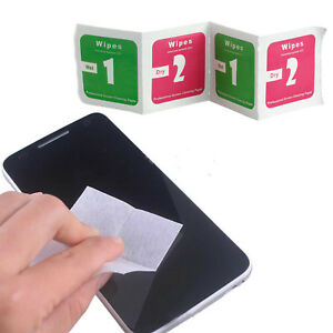 Camera lens optical screen protector cleaning cleaner alcohol wet dry wipes