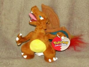 Vintage Official Nintendo POKEMON Charizard 2000 Made by Plush toys Play By Play