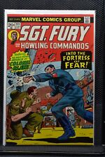 Sgt Fury and His Howling Commandos #111 Marvel Comic 1973 Stan Lee Ayers 8.0