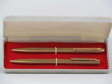 Vintage 14 Carat Gold Pen and Pencil Set